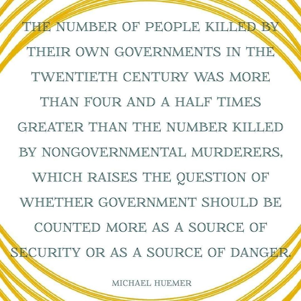 government kills
